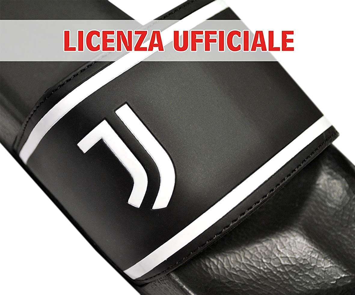 MATTIOLI Ciabatta Squadre Calcio Inter Strip, Prodotto Ufficiale