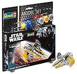 Revell-Anakin's Starfighter Wars Set Anakin 's Jedi Star Fightet en Kit Modelo con Base Accesorios, fácil Pegar y para pintarlas, Escala 1:58 (63606), 10,0 cm de Largo