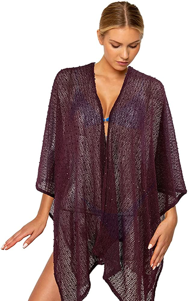 Lewenar Summer Shawl Bathing Suit Coverup Wraps for Women Cover ups (26) at  Women's Clothing store