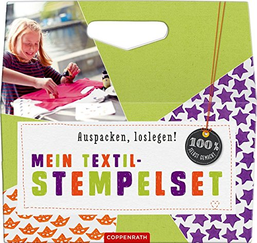 Textil-Stempelset (100% selbst gemacht)