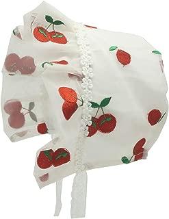 Sun Bonnet for Baby Bonnets 0-6 Months Infant Bow Vintage Hats Newborn Sun Cap
