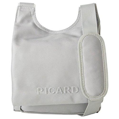 Picard Damen Hitec Umhängetaschen, Silber (Silber), 24x29x5 cm