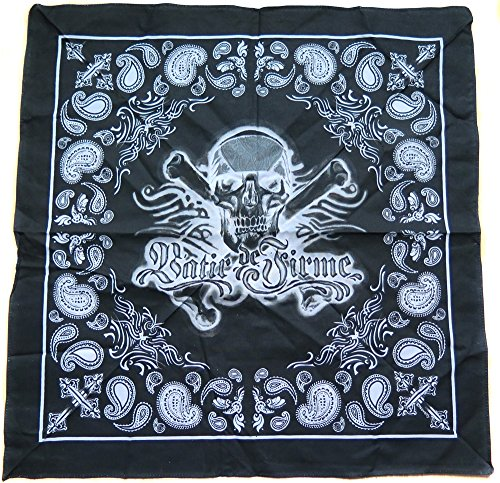 bandana tete de mort du rag usa masque cagoule skull Call of Duty moto rnb hip hop
