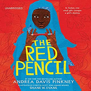 The Red Pencil audiobook cover art