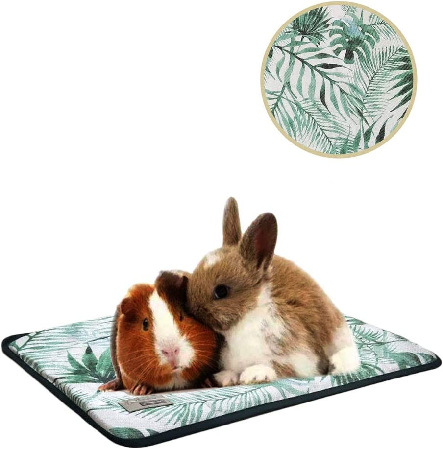 Balacoo Pet Cooling Mat for Small Animals Summer Mat Summer Cooling Bed Pad Sleeping Mat for Guinea Pig Hamster Rabbit Chinchilla and Other Small Animals Size XXS Blue