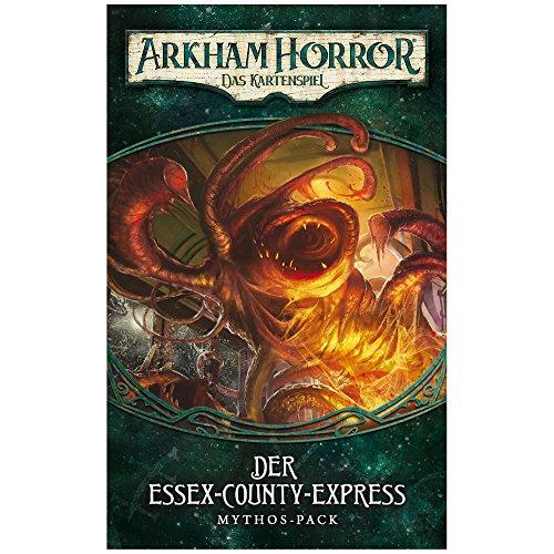Fantasy Flight Games FFGD1103 Arkham Horror: LCG-Der Essex-County-Express Mythos-Pack (Dunwich-2) DEUTSCH