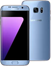 Samsung Galaxy S7 Edge SM-G935A 32GB Blue Coral Smartphone for AT&T (Renewed)