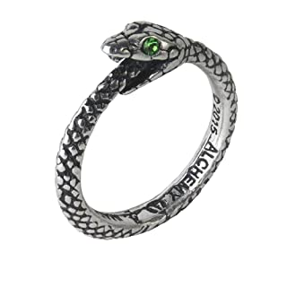The Sophia Serpent Ring Ouroboros by Alchemy Gothic
