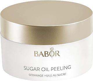 BABOR Cleansing Sugar Oil Peeling, vitaliserende 2-in-1 suiker-olie peeling, met natuurlijke argan-, sesam- en macadamiano...
