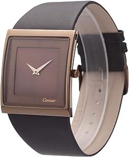 Wrist Watch Minimalist Men Square Dial Bussiness Style SIBOSUN Leather Strap Quartz Analog