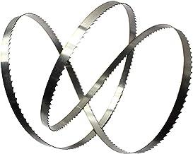 Wnuanjun Importerat material träbearbetning bandsågblad för skärning trämulti för trä bandsåg skärmaskin (storlek: 3 st x ...