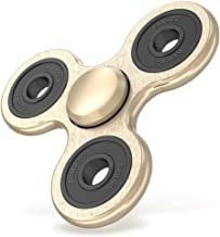 Maxboost Tri-Spinner Fidget Spinner Focus Finger Toy Stress Reducer for Kid and Adult [Premium Bearing] Easy Flick and Spin with Single/Both Hands Toys Perfect for Anxiety, Autism