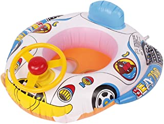 GXOK Swimming Ring Inflatable Baby Float Small Suitable Age for 1 Months- 3 Years Old,Swimming Pool for Kids Family Kids Water Play Fun in Summer [Ship from USA Directly]