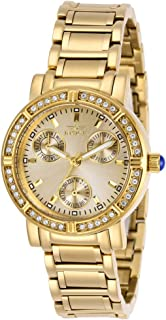 Women's Angel Quartz Watch with Stainless Steel Strap, Gold, 16 (Model: 29115)
