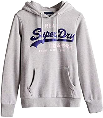 Superdry VL Duo Satin Entry Hood Ub Sweat-Shirt À Capuche Femme