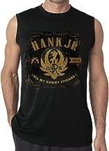 Mens Hank Williams Jr Vest Comfortable Sleeveless T Shirts Tshirts Boys Tank Tops
