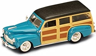 Yatming 1948 Ford Woody, Turquoise 94251 - 1/43 Scale Diecast Model Toy Car