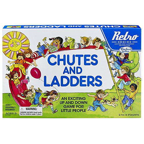 Chutes and Ladders Game: Retro Series...