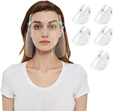 Transparent Anti-Fog Spray Saliva Chef Face Food Protective Face Cover Plastic Face Reusable Cover Sanitary Environmental ...
