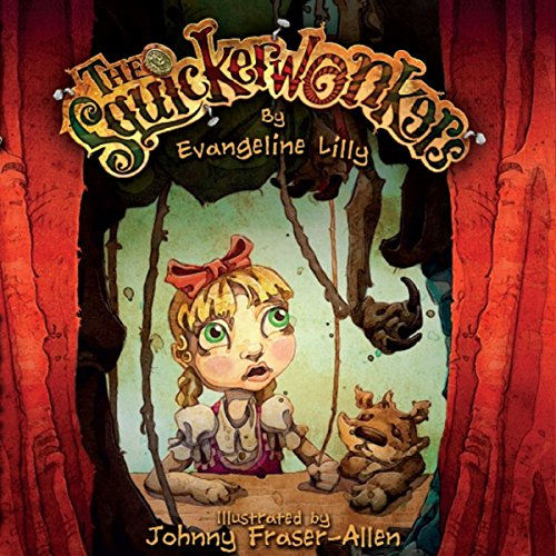The Squickerwonkers audiobook cover art