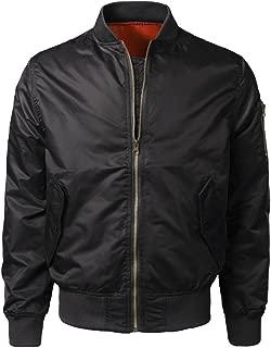 Men's Jacket Coat Clearance Sale Men Spring Autumn Winter Casual Solid Slim Bomber Jacket Zipper Outwear