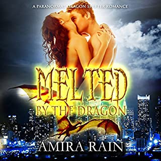 Melted by the Dragon audiobook cover art