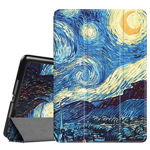 FINTIE Custodia per iPad 9.7 Pollici 2018 2017, iPad Air 2, iPad Air - Sottile Leggero Cover Protettiva Case con Auto Sveglia/Sonno Funzione, Starry Night