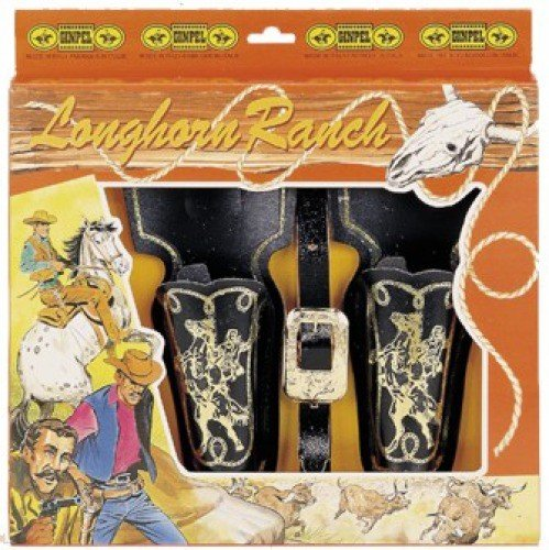 Ginpel - 00118 - holster 2 sacs cow boy
