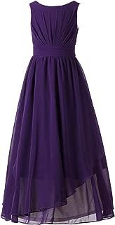 7-16 Chiffon Girls Junior Bridesmaid Dress