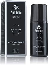 Soummé Antitranspirant Protection Roll-On for Men Kosmetikum [50 ml] | Schützt vor Schweiß- und Geruchsbildung, verschiedene Pflegestoffe
