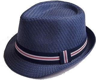 ZOO 男性と女性のための日焼け止め帽子クールクール通気性サマーハット (色 : 青)