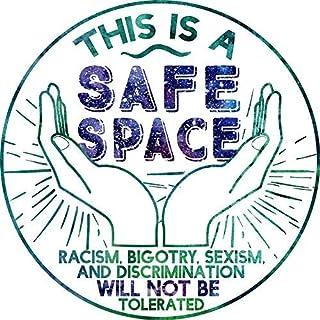 """Safe Space Sticker Decal Window Bumper Sticker Vinyl 5"""""""