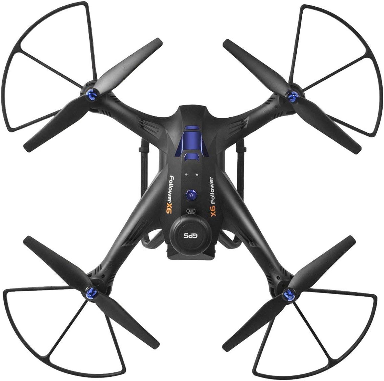Comomingo Xinlin SHIYE X183 5.8G Dual GPS RC Quadcopter Drohne mit 2.0MP HD FPV Kamera (Schwarz)