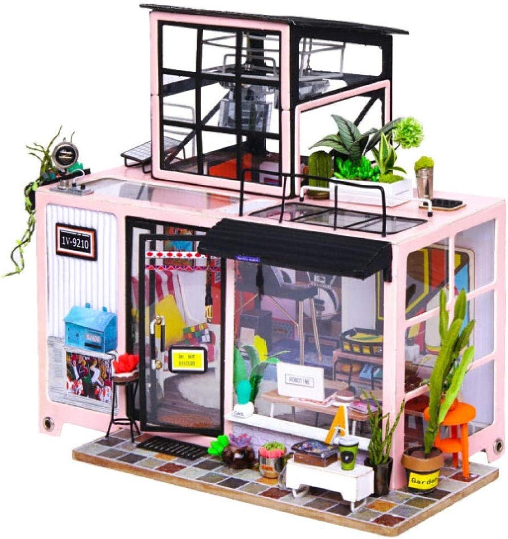 bajo precio Rompecabezas Tridimensional de Madera 3D 3D 3D montado Modelo Cabina Hecha a Mano  Los mejores precios y los estilos más frescos.