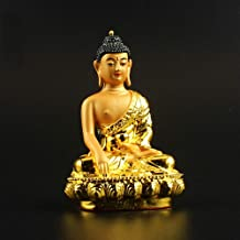 ZGPTX The Buddha Statue of Saga is A Small Gold-Plated of The Tibetan Secrets Accompanied by The Little Buddhist Sagamuni