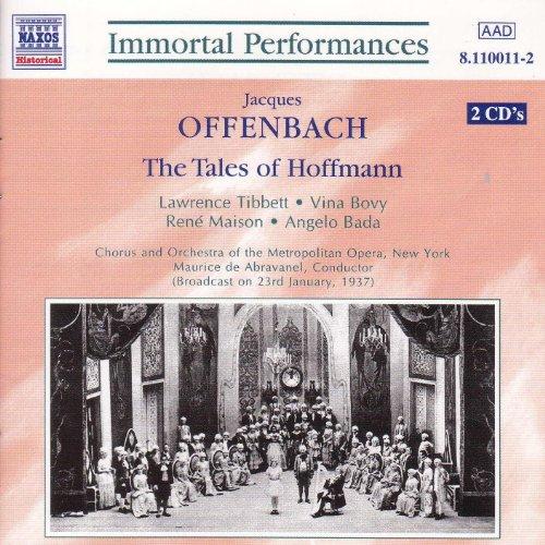 Offenbach : The Tales Of Hoffmann (Tibbett / Maison)