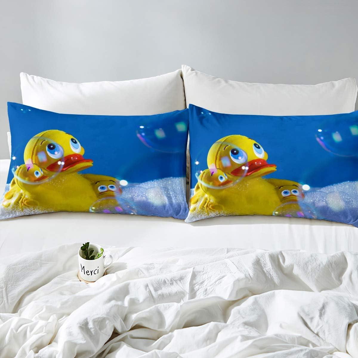 Moon /& Stars Boys Girls 100/% Cotton 3 Pcs Twin Bed Sheet Set Flat Sheet /& Fitted Sheet /& Pillowcase Kids Bedding Set Stars, Twin