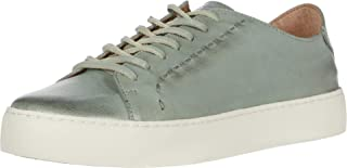 Frye Women's Lena Low Lace Sneaker, Jade, 8 M US