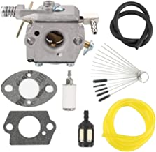 Venseri 640347 640347A Carburetor Carb for Tecumseh 640347 640347A TM049XA TC200 TC300 Strikemaster Jiffy Ice Auger 50667 2-Cycle Engine with Fuel Line Filter