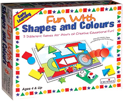 Creative Pre-School - Fun with Shapes & Colours - (CRE0618)