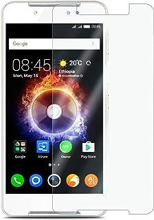 واقي شاشة من الزجاج الشفاف والمتقسى لهاتف Infinix Smart X5010 5.0 بوصة 2.5D لهاتف Infinix X5010
