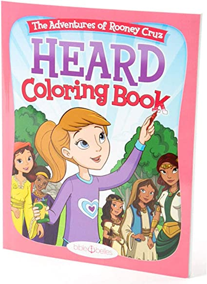 Amazon.com: BIBLE BELLES Heard Children's Coloring Book Adventures Of  Rooney Cruz Series Coloring Book - Inspirational Christian Coloring Book  Featuring Story Art And Bible Verses, Kids Coloring Book: Toys & Games