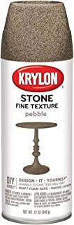 Krylon K03702000 Fine Stone Textured Finish, Pebble
