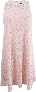 Women's Sleeveless Lace Shift Dress