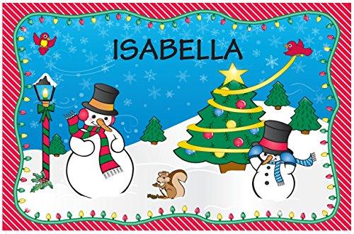 Weihnachten Tisch-Sets–Isabella