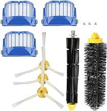 TOPINCN Cepillo Flexible de Cerdas Cepillos Laterales Armados Kit de Accesorios de Repuesto para Irobot Roomba Serie 600