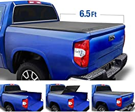Tyger Auto (Soft Top T3 Tri-Fold Truck Tonneau Cover TG-BC3T1033 Works with 2007-2013 Toyota Tundra | Fleetside 6.5' Bed | for Models with or Without The Deckrail System