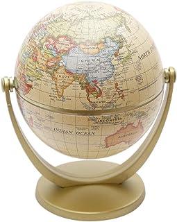 اداة تعليمية جغرافية بشكل كرة ارضية دوارة لتزيين المنزل والمكتب من ماينستاي