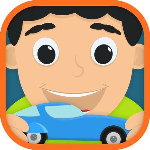 Kinder-Spielzeug-Autos RC und Mechanik Free Game -Little Workshop edu-App für kleine Kinder und neugierige Kleinkind Jungen und Mädchen