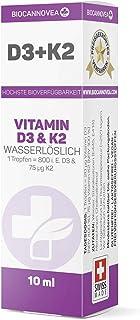 Biocannovea D3 & K2 - soluble en agua